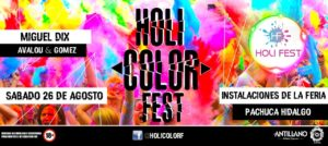 Holi Color Fest Pachuca